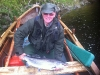 Donald Skene with his fantastic catch